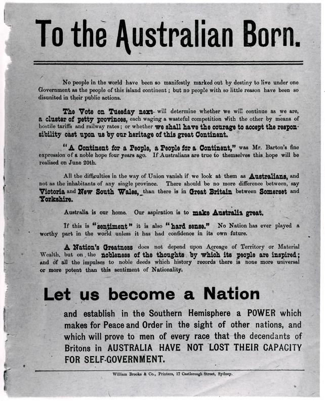 essay australian federation Australian federation essay dureza en agua analysis essay, the only disability in life is a bad attitude essays essay on college memories.
